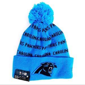 🆕 New Era Carolina Panthers NFL Winter Hat Beanie